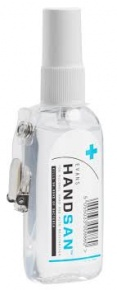 Evans Handsan Alcohol Gel Sanitiser 75ml