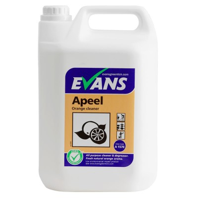 Evans Apeel Orange Multi Purpose Cleaner & Degreaser 5 Litre