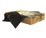 Black Polythene Refuse Sacks Economy 18x29x39 140g