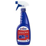 Evans Cyclone Spray With Bleach For Mould & Mildew