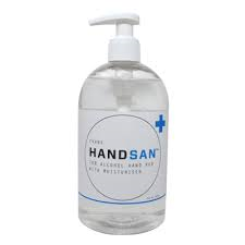 Evans Hansan Alcohol Gel Sanitiser 500ml