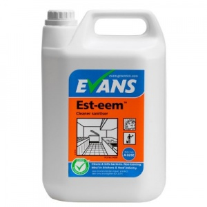 Evans Est-eem Unperfumed Cleaner Sanitiser