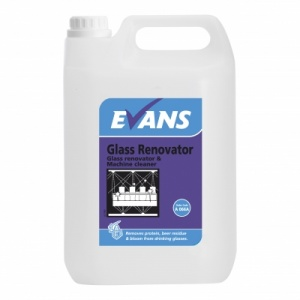Evans Glass Renovator & Machine Cleaner 2.5 Litre
