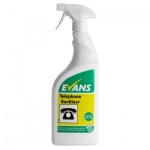 Evans Telephone Sanitiser Cleans & Disinfects Office Equipment