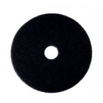 Floor Maintenance Pad Black Heavy Duty Stripping Sizes 12-20''