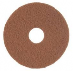 Floor Maintenance Pad Tan For Polishing & Buffing Sizes 12-20''