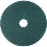 Floor Maintenance Pad Green Wet Scrubbing Light Stripping Sizes 12-20''