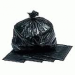 Black Polythene Refuse Sacks Roll 18x29x39 180g