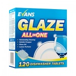 Evans Glaze Machine Dishwash Tablets 5 in 1