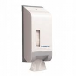 Kimberley Clarke Bulk Interleaved Toilet Tissue Dispenser White