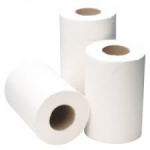 Mini Centre Feed Paper Tissue Rolls White 1ply 120m