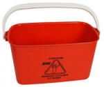 SYR Plastic Oblong Window Cleaning bucket with handle