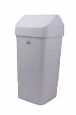 Swing Bin 50 Litre Grey & White
