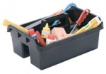 Tote Caddy Tidy Tray Plastic Essential Carriers