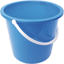 Plastic Economy Bucket 10 Litre Colour Coded