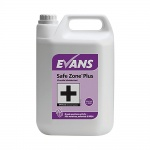 Evans 5 Litre Safe Zone Plus Virucidal Disinfectant & Sanitiser Cleaner 5L