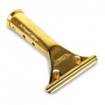 Ettore Squeegie Window Cleaning Brass Handle