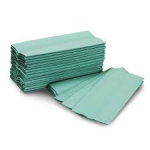 Paper Hand Towel C Fold Green 1ply