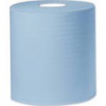 Centre Feed Paper Tissue Rolls Blue 2ply 110m Economy