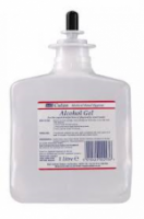 Cutan Alcohol Gel Sanitiser 1 Litre Refill Deb Dispenser