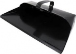 Metal Dustpan Heavy Duty Black