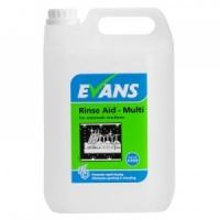 Evans Rinse Aid Multi Automatic Machines 5 Litre