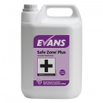 Evans 5 Litre Safe Zone Plus Virucidal Disinfectant & Sanitiser Cleaner