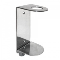 Single Stainless Steel Wall Bracket 500ml