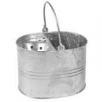 Galvanised Mop Bucket For Socket & Hygiene Mops