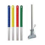 Kentucky Mop Holder & Aluminium Handle Colour Coded