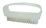 Plastic Nail Brush With Nylon Fill