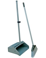 Lobby Plastic Long Handled Dustpan
