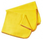 Dusters Yellow Cotton Polishing Cloth Large