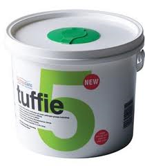 Tuffie 5 Skin Friendly Cleaning & Sanitising Wipes 225