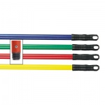 Deluxe Plastic Colour Coded Handles For Stiff & Soft Broom Heads