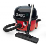 Henry HVR240A Numatic Cylinder Vacuum Machine Red