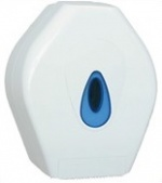 Evolution Jumbo Toilet Roll Dispenser White