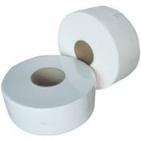 Mini Jumbo Toilet Roll 3'' Core 2ply 150m