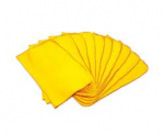 Dusters Yellow Cotton Polishing Cloth Small