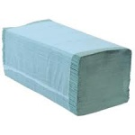 Paper Hand Towel Z Fold Interfold Blue 1ply