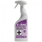 Evans Safe Zone Plus Virucidal Disinfectant & Sanitiser Cleaner